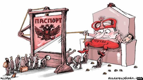 Грандиозный обман с паспортами «ЛНР/ДНР»